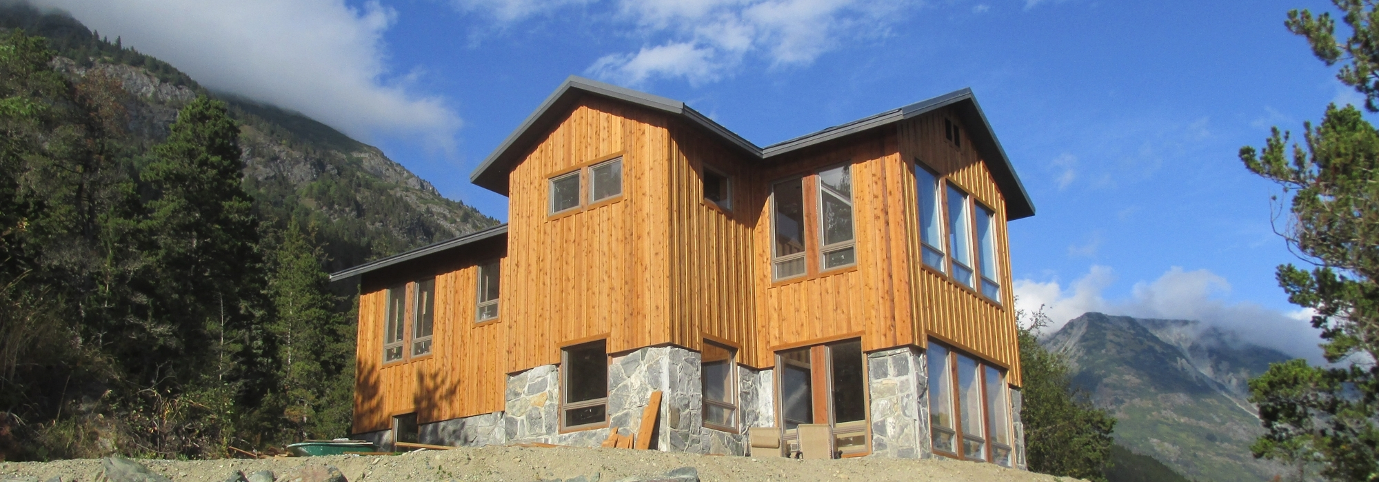 Stone House – Haines Highway 8 Mile